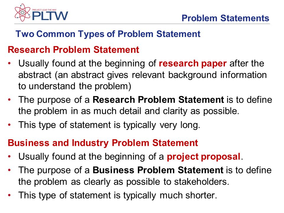 Developing A Problem Statement Ppt Video Online Download
