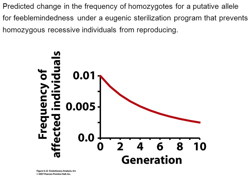 Motivation Can natural selection change allele frequencies