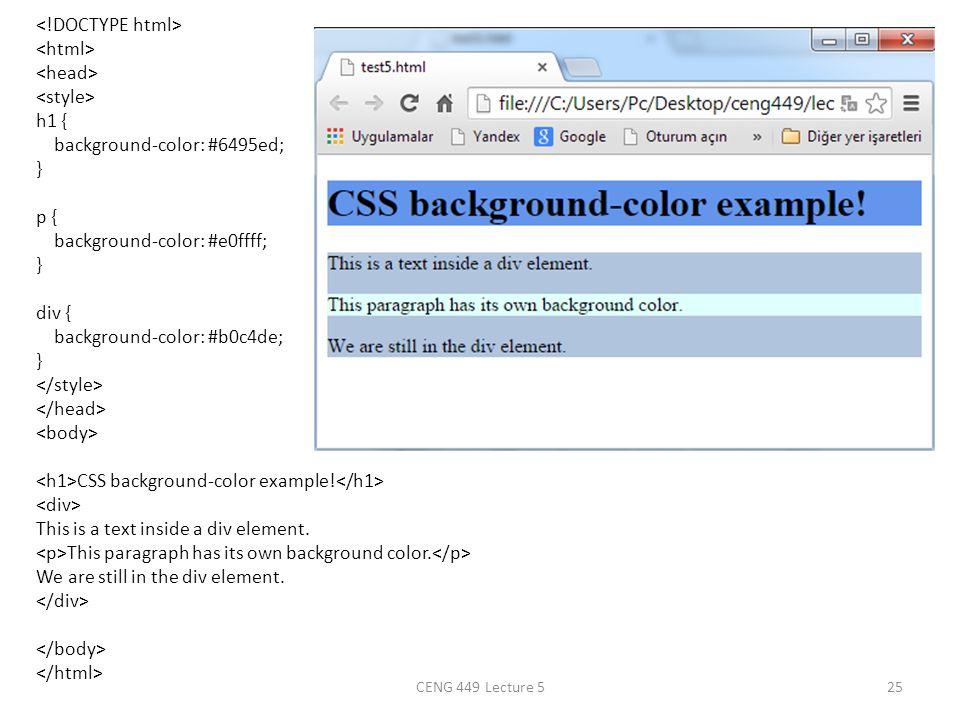 Css Print Div Background Color