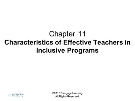 ©2012 Cengage Learning. All Rights Reserved. Chapter 3