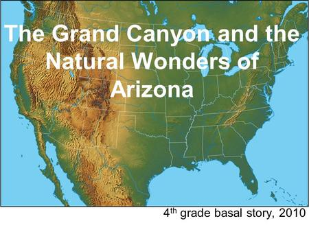 Arizona Chapter 2 Frameworks Powerpoint Travel