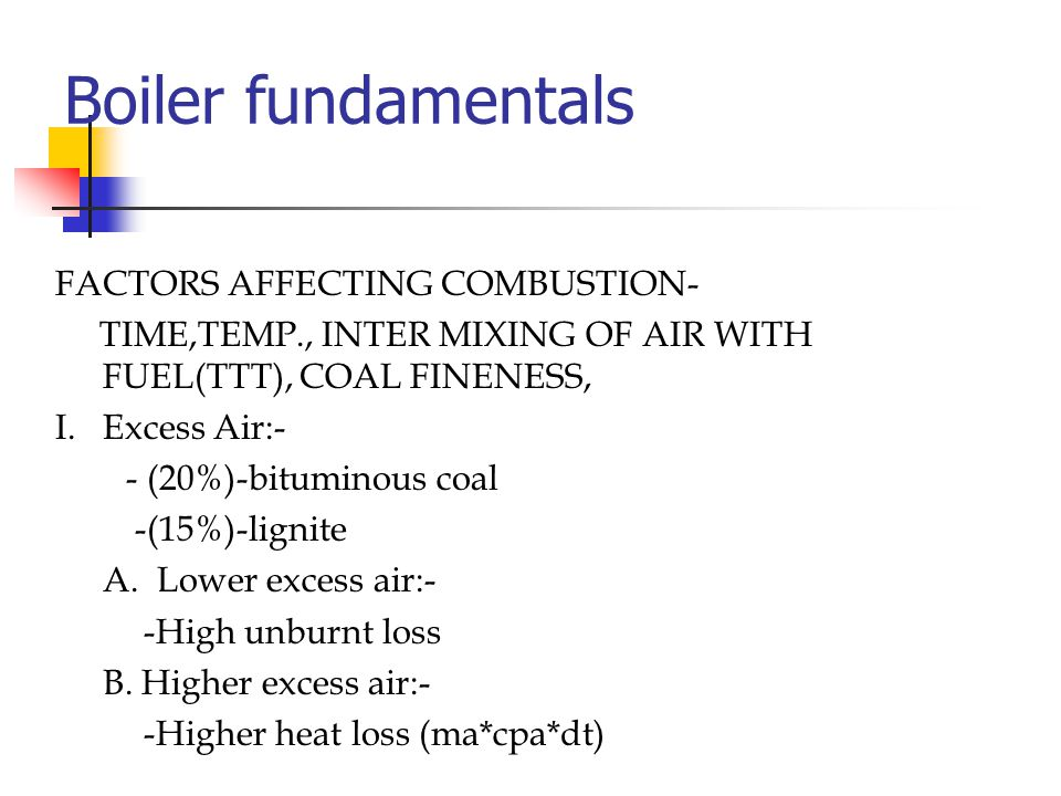 Boilers Fundamentals Combustion Ppt Video Online Download