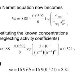 Plot Diagram Activity 2005 Big Dog Bulldog Wiring Nernst Equation Consider The Half Reaction: - Ppt Video Online Download