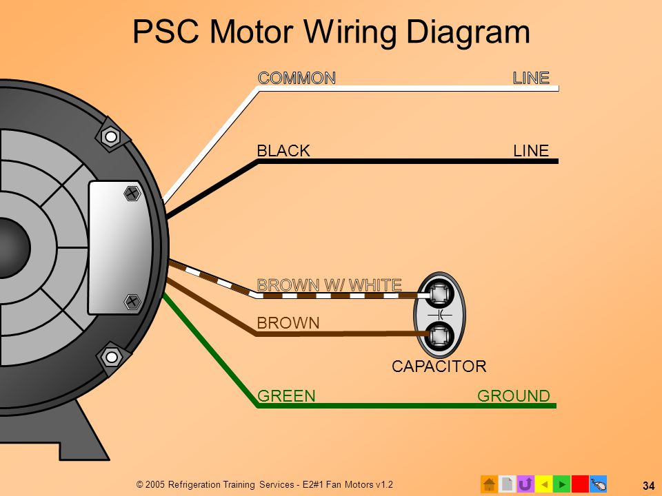 ac start capacitor wiring diagram yfm400fwn e2 motors and motor starting (modified) - ppt video online download