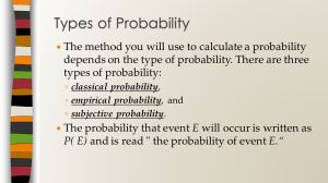 Probability Unit ppt download