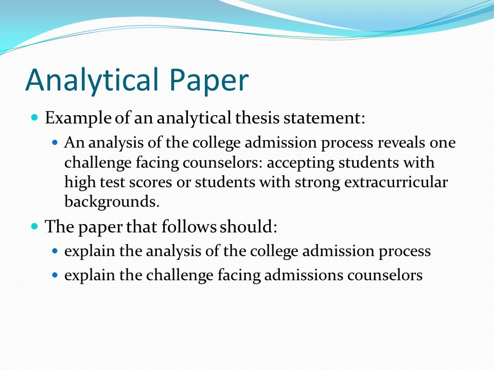 Thesis Statements A How To Ppt Video Online Download