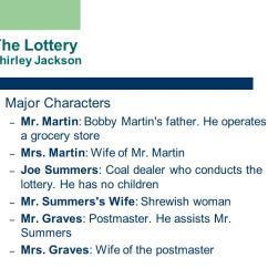 The Lottery By Shirley Jackson Plot Diagram Pioneer Deh P4800mp Wiring Literary Essay On Critique Laughter Cf