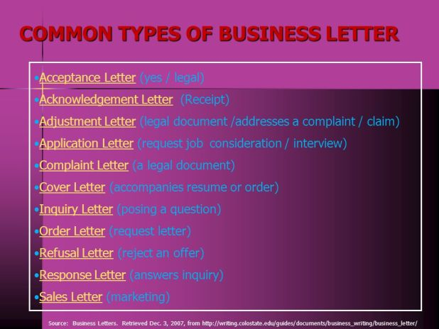 kinds of business letter custom paper writing service - Kind Of Business Letter