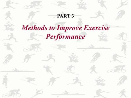 2 1 C H A P T E R Aerobic Endurance Exercise Training