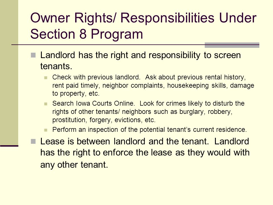 City of Cedar Rapids Section 8 Housing Choice Voucher Program  ppt download