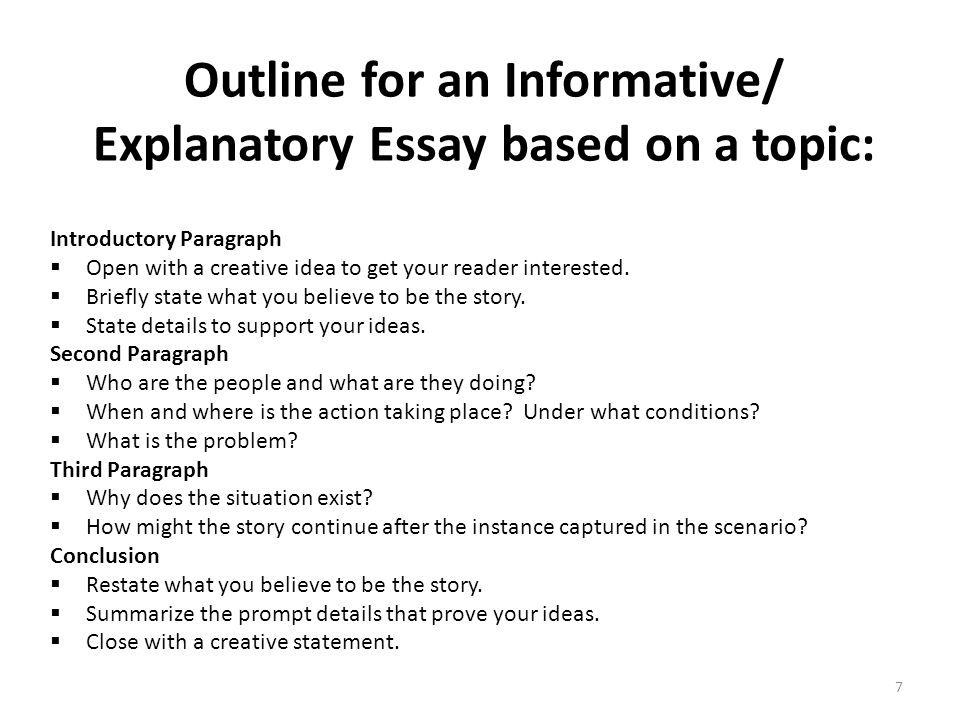 informative essay format co informative essay format