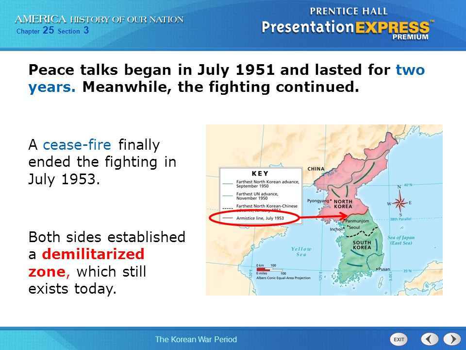 Objectives Explain how the situation in Korea became the ...