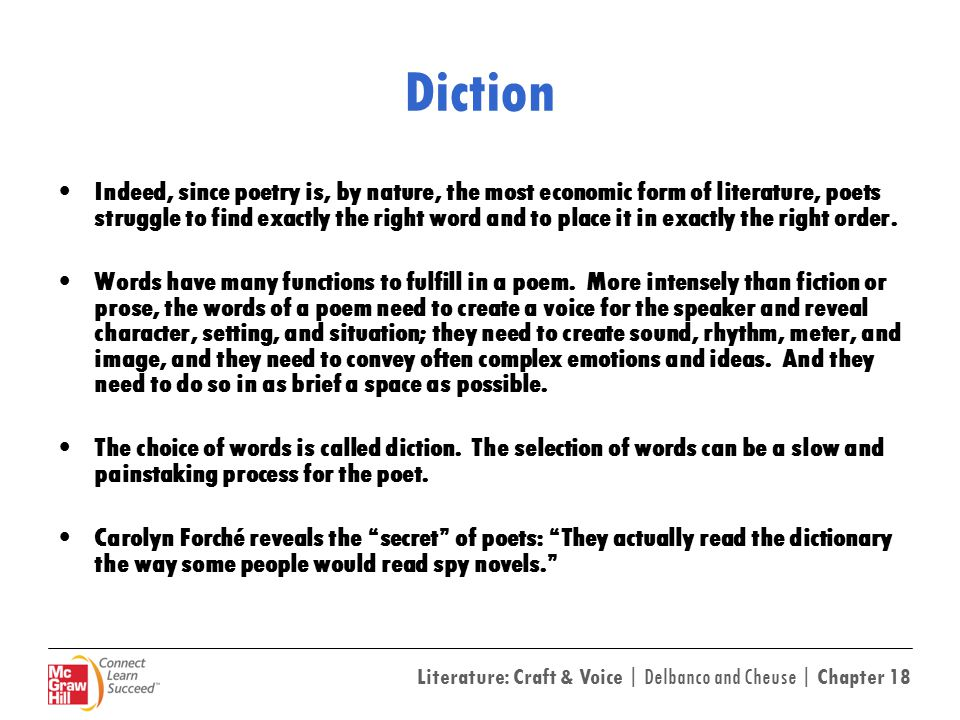 18 Reading Poetry Words Ppt Download