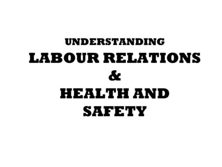 Module 5: Employee and Labor Relations 22% PHR (49