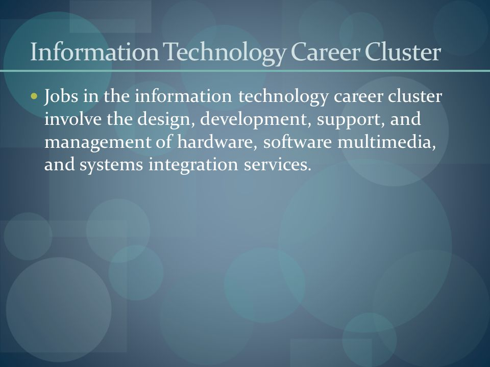 Career exploration career clusters  pathways  ppt download