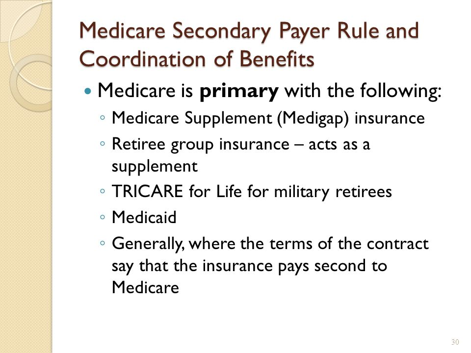 Medicare and Medicaid Coordination of Benefits  ppt video