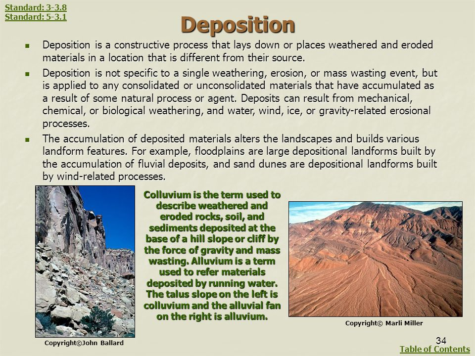 Weathering Erosion And Mass Wasting Processes Ppt Download