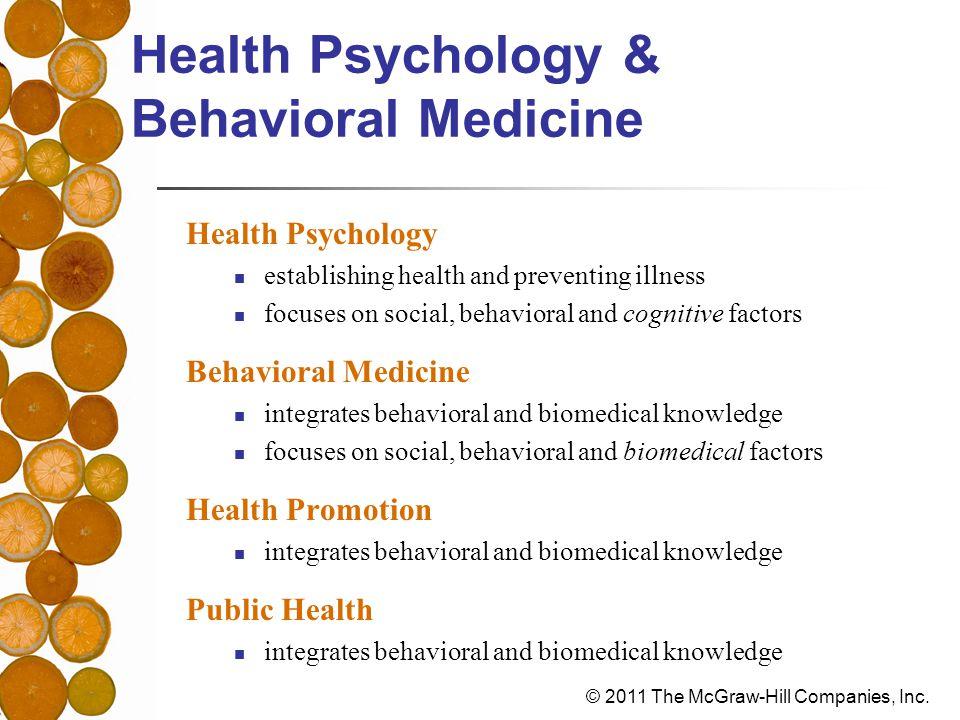 models of health psychology