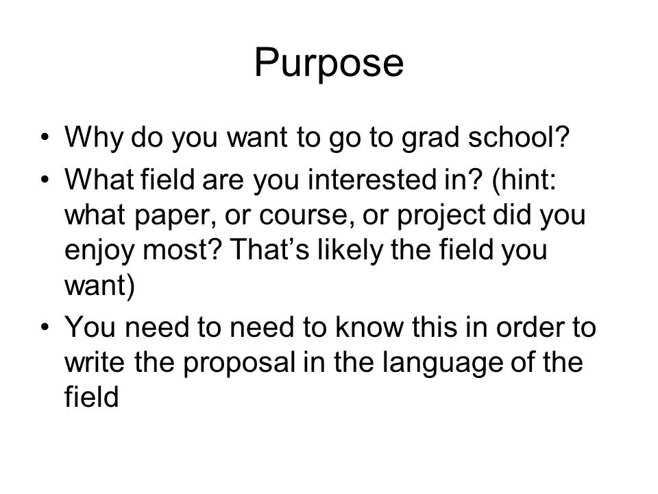 Statement Of Interest Research Proposal Ppt Download