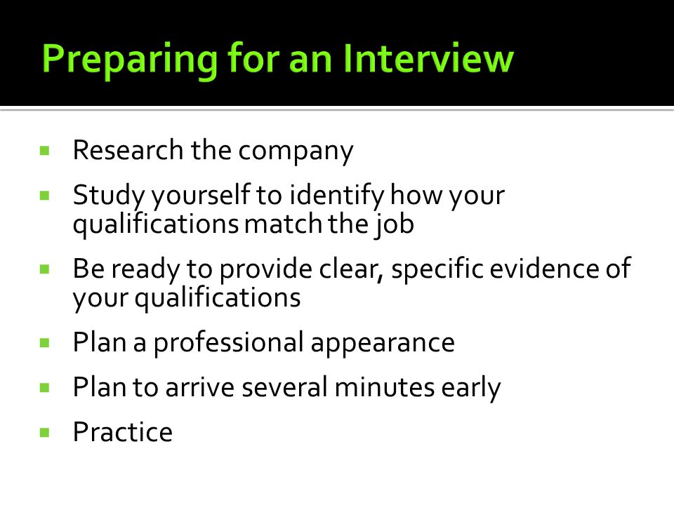 Successful Strategies For Interviewing Ppt Video Online