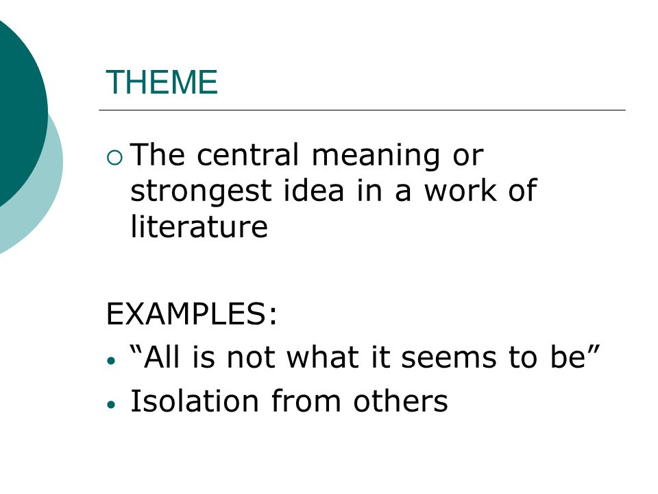 Literary And Drama Terms Ppt Video Online Download