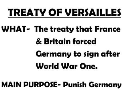 7-4.2 Effects of WWI Vocab Armistice Compromise p.191
