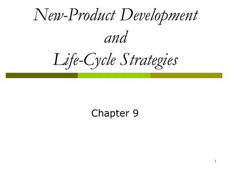 Product Life Cycle. Introduction The Introduction stage is