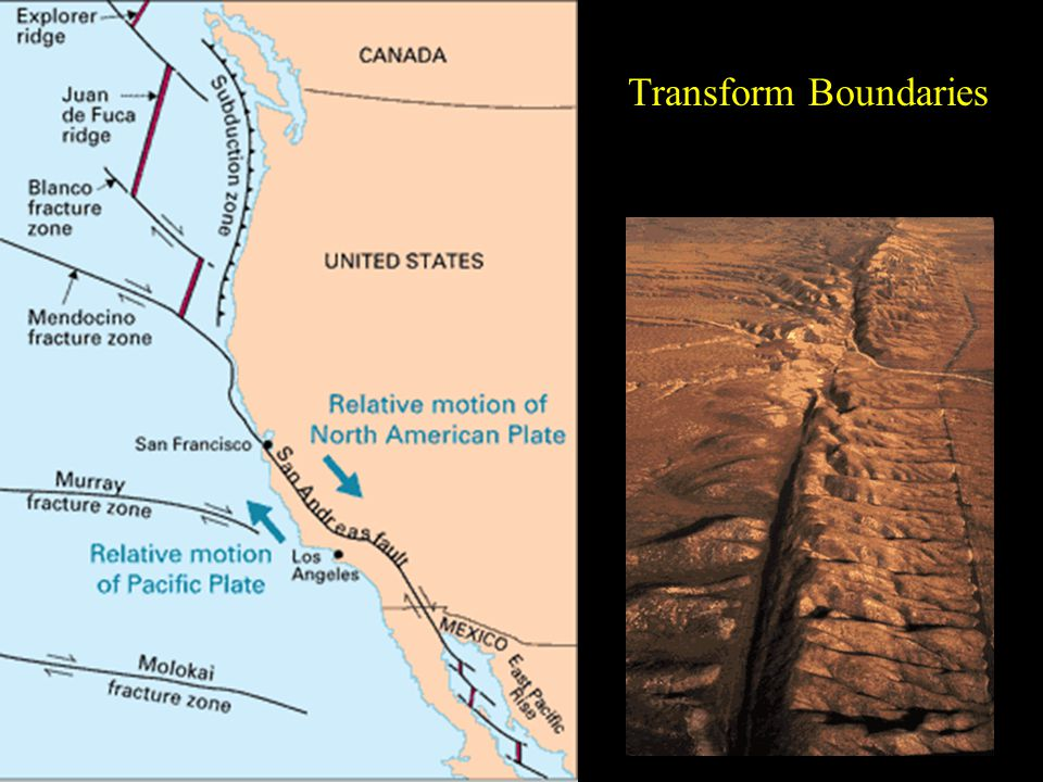 Plate Tectonics and Mineralization Structural features of