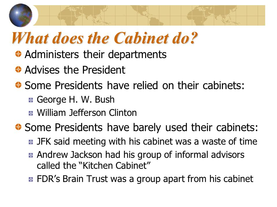 Exceptional What Is The Purpose Of President S Cabinet Quizlet