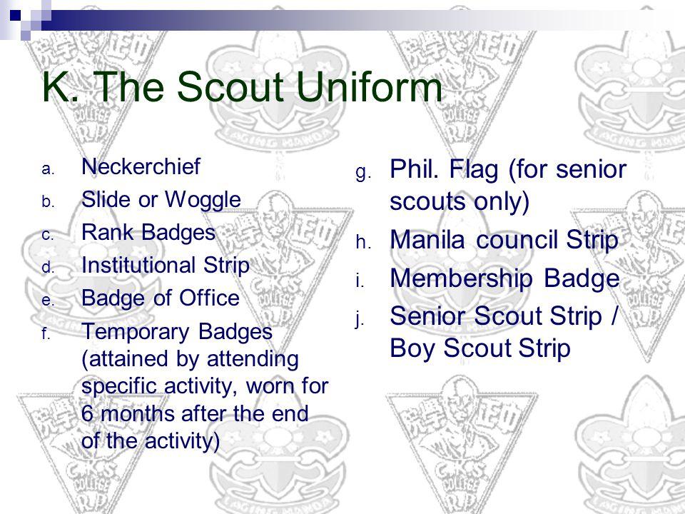 Boy Scouts Uniform Shoes