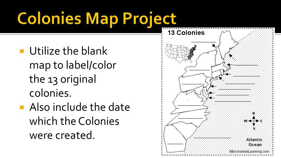 Colonial Settlement Unit ppt download