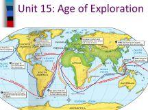 Unit 15: Age of Exploration - ppt download
