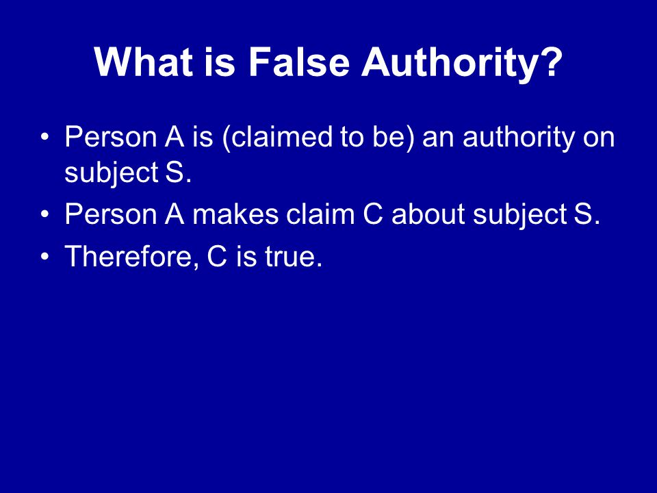 The Crucible False Authority Ppt Video Online Download