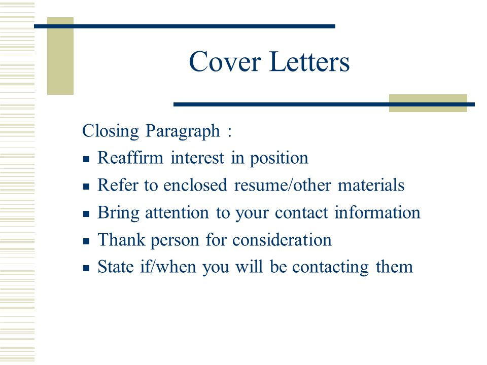 RESUMES COVER LETTERS AND INTERVIEWING  ppt video online download