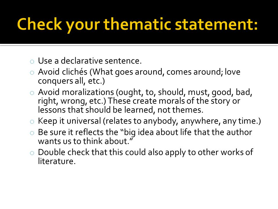 Developing a Thesis  ppt download