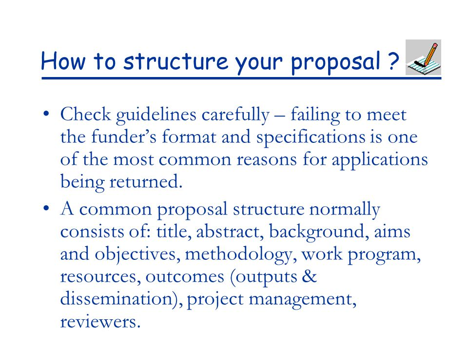 How To Write A Winning Research Proposal Ppt Download