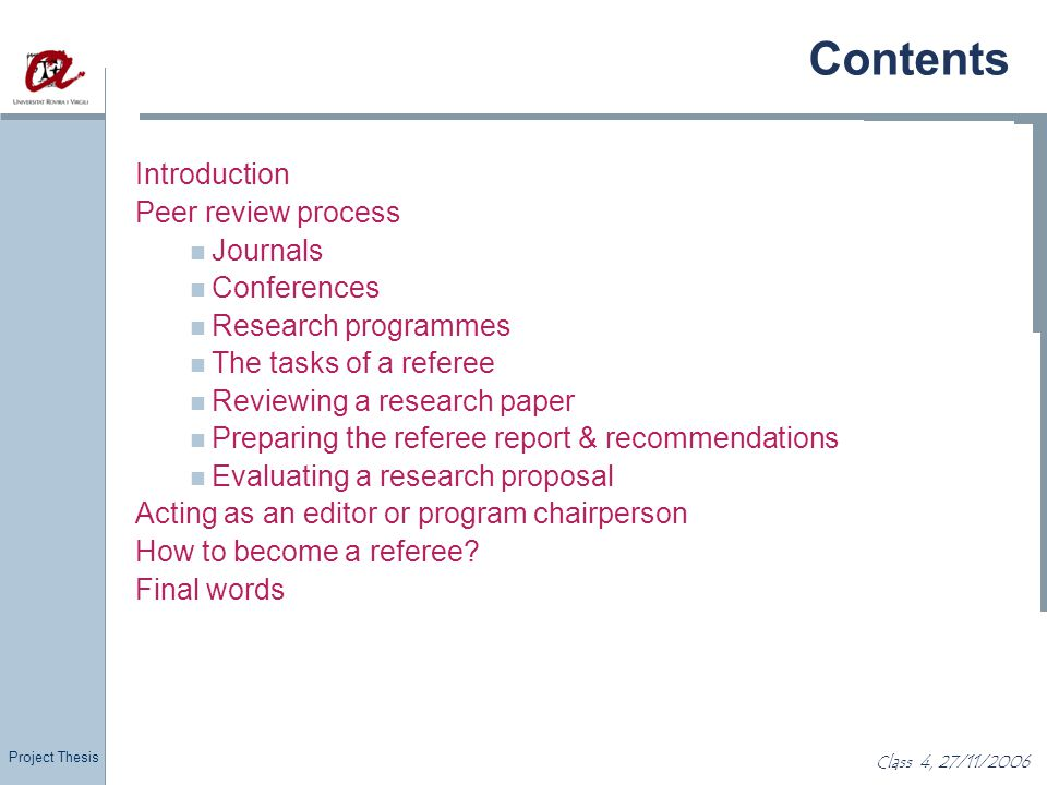 Proposal Writing & The Refereeing Process Ppt Download