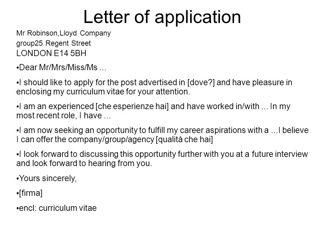 cover letter mrs ms