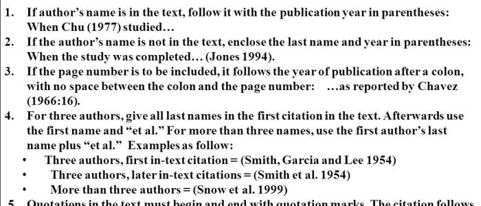 how to cite asa style