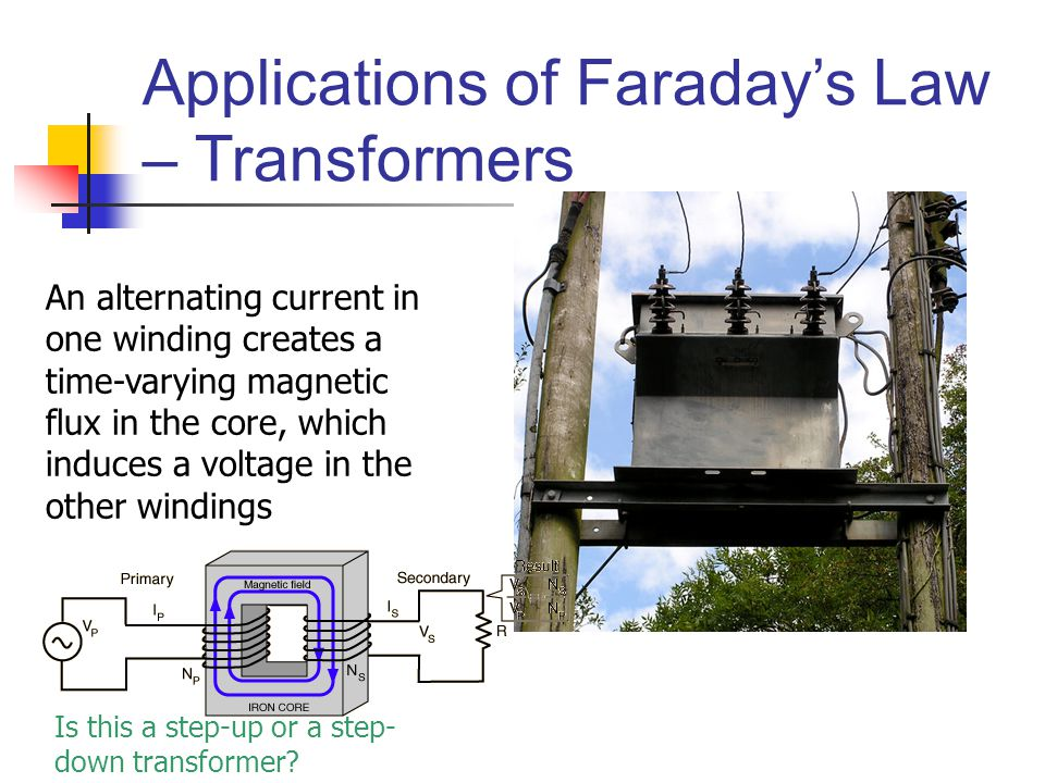 step down transformer diagram double capacitor single phase motor wiring chapter 31 faraday's law. - ppt download