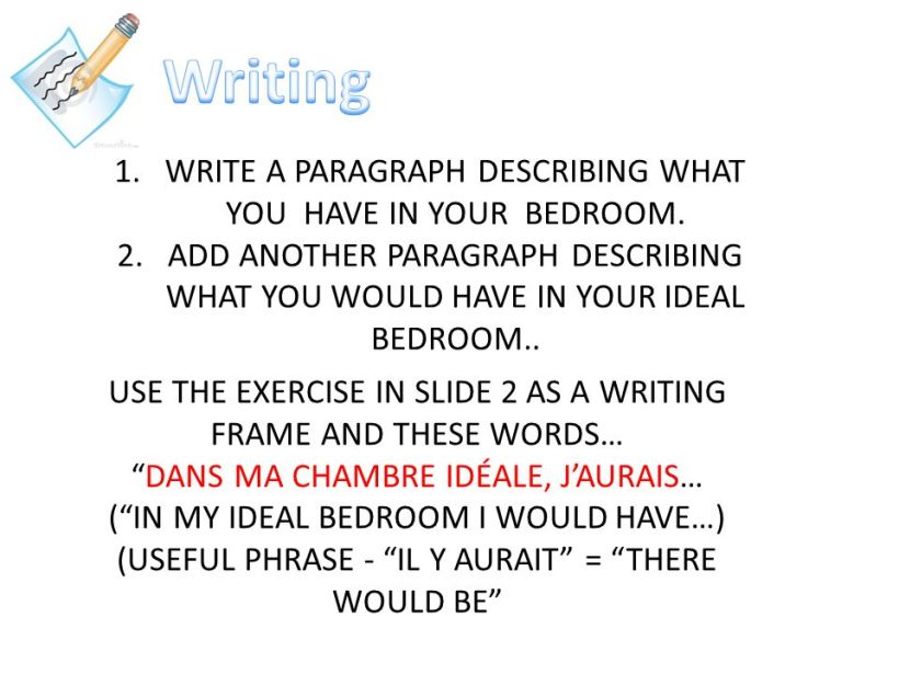 Describe the view from your bedroom window essay