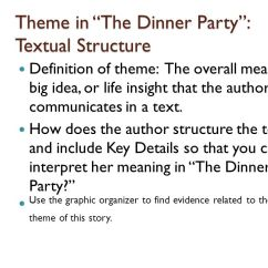 "What Are The Parts Of A Plot Diagram Cat6 Ethernet Wiring Lesson 3: ""the Dinner Party"" And ""a Curious Romance"" - Ppt Video Online Download"