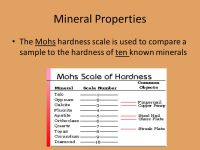 Nail Hardness Mohs Scale