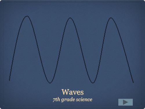 small resolution of Waves 7th grade science. - ppt download