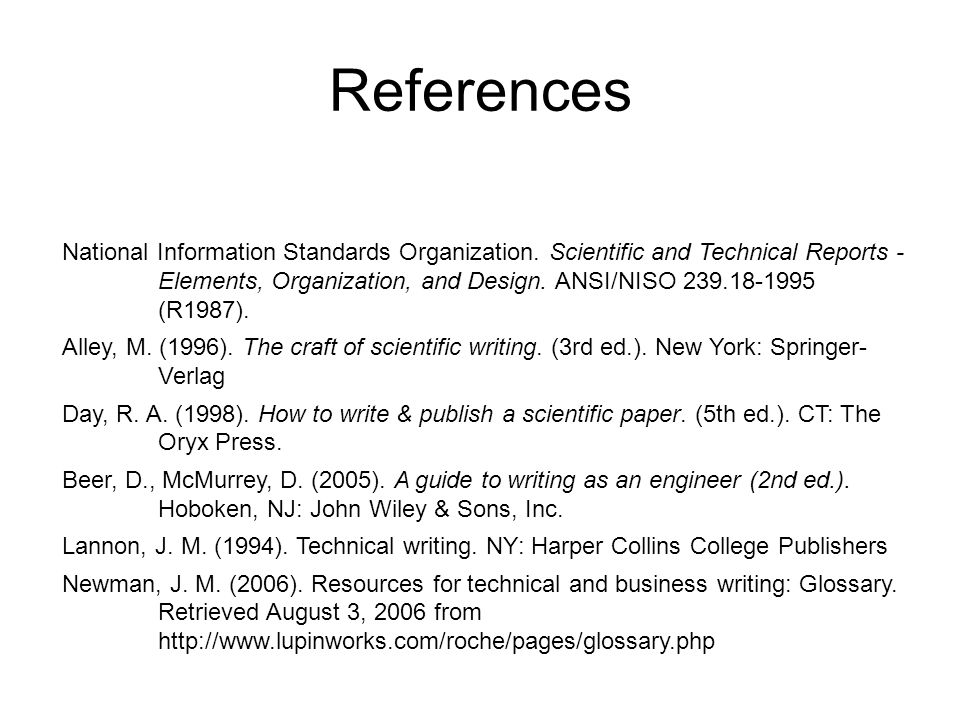 Technical Report Writing Ppt Download