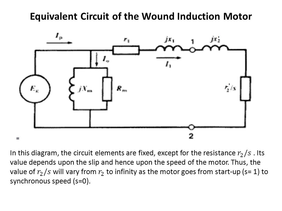 circle diagram of 3 phase induction motor truck lite led wiring 2 single equivalent circuit problems - impremedia.net