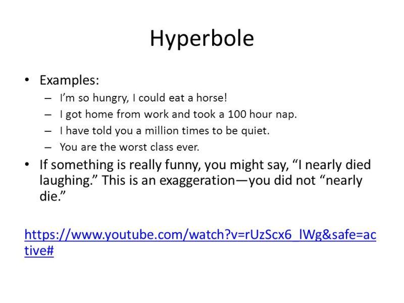 Hyperbole Poems Examples Poemsrom