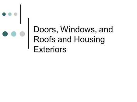 20 Doors and Windows Chapter Permission granted to