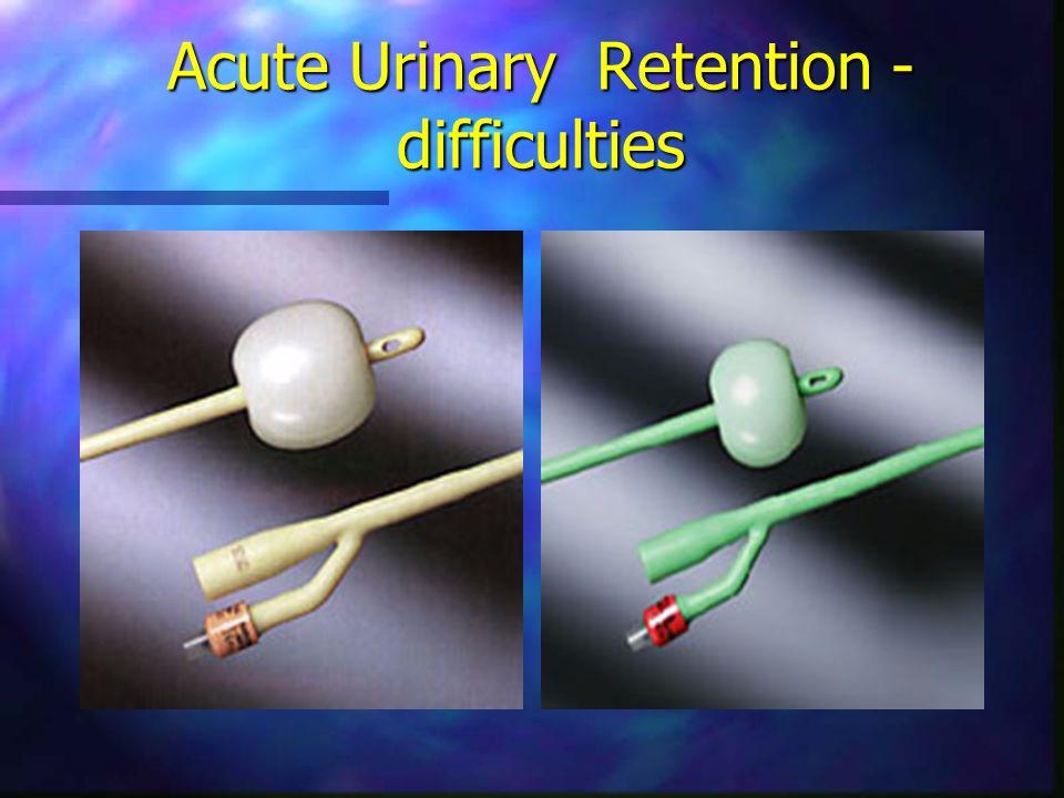 Foley catheterization