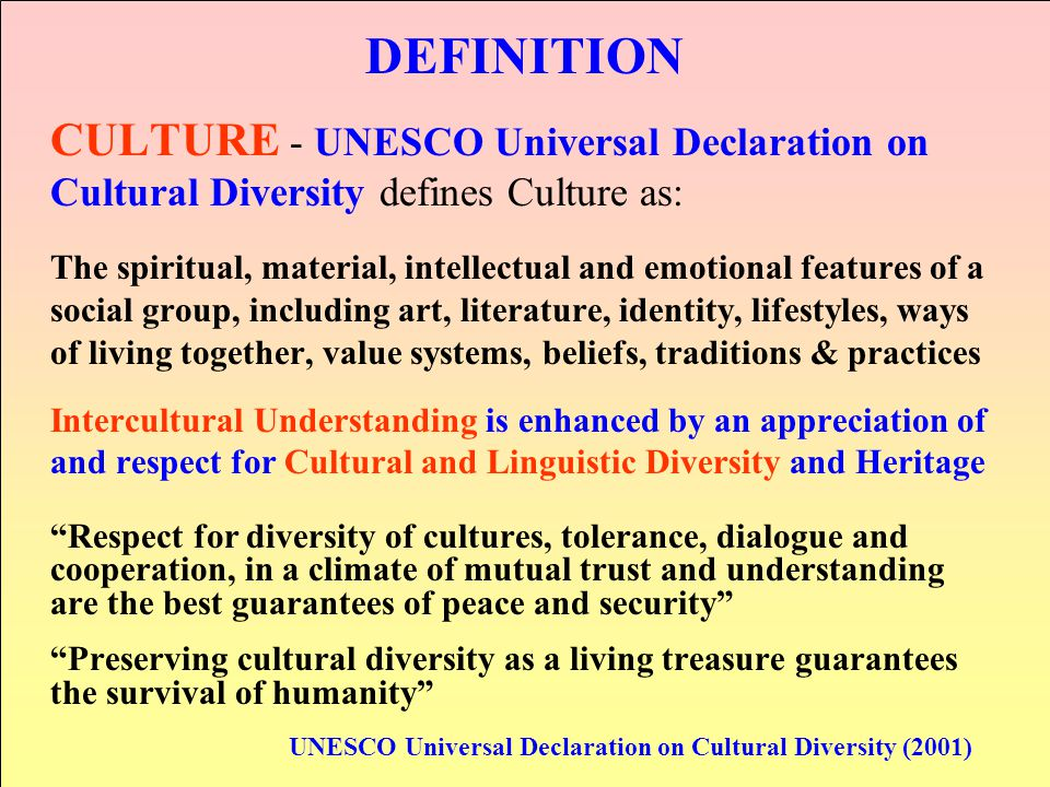 Cultural Diversity and Intercultural Understanding within EIUESD  ppt video online download